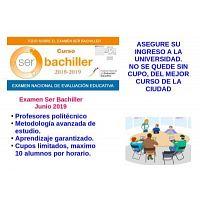 CURSO SER BACHILLER 2019