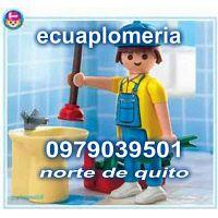 TODO EN PLOMERIA LAS 24 HORAS 0979039501TODO NORTE  QUITO PLOMERO