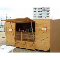 Se vende remoeque de madera para comida rapida