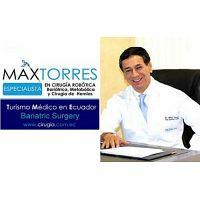 Especialista en Cirugía Robótica Dr. Max Torres.